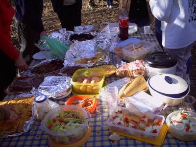 ¡¡¡Atención a las comidas en el campo!!! (Por Maite Martínez)