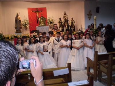 PRIMERA COMUNIÓN 2007